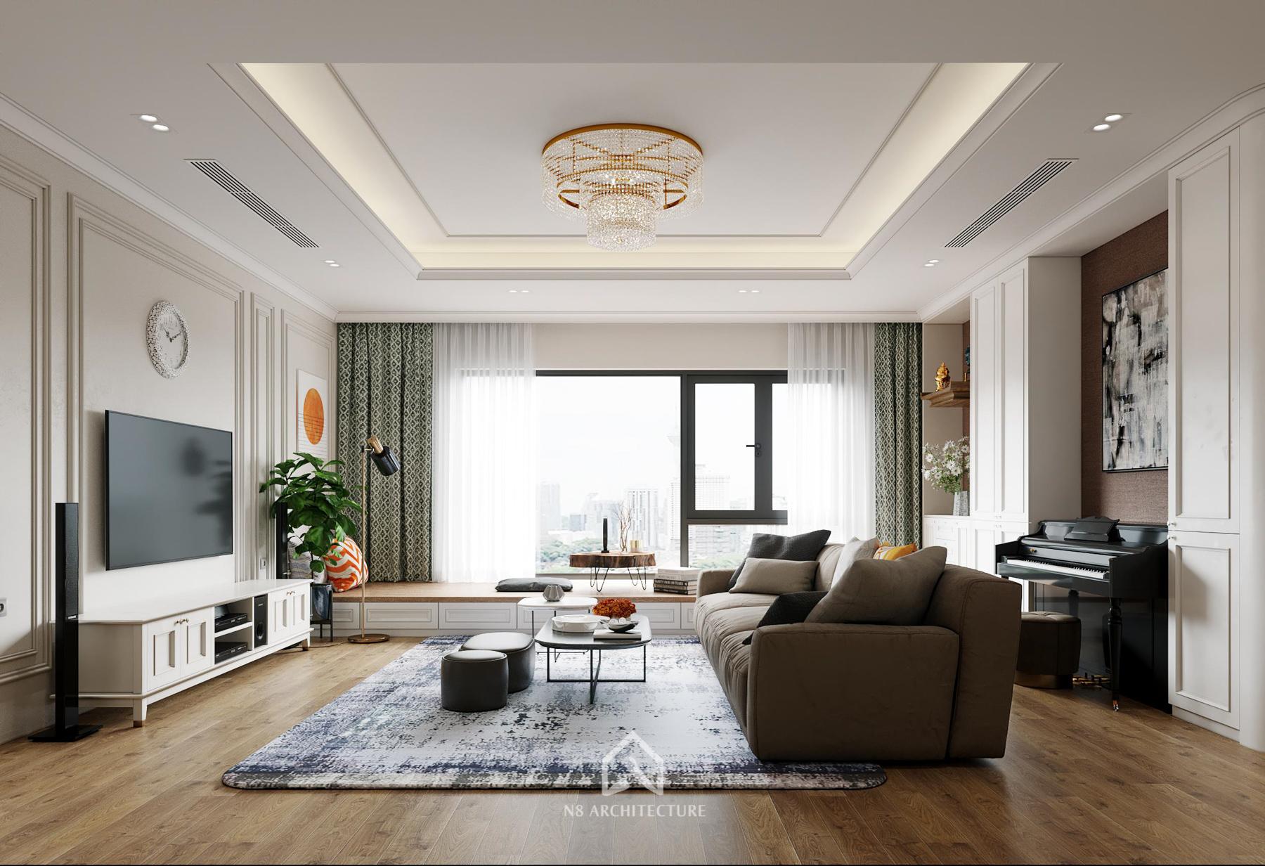 thiết kế nội thất chung cư paragon 3