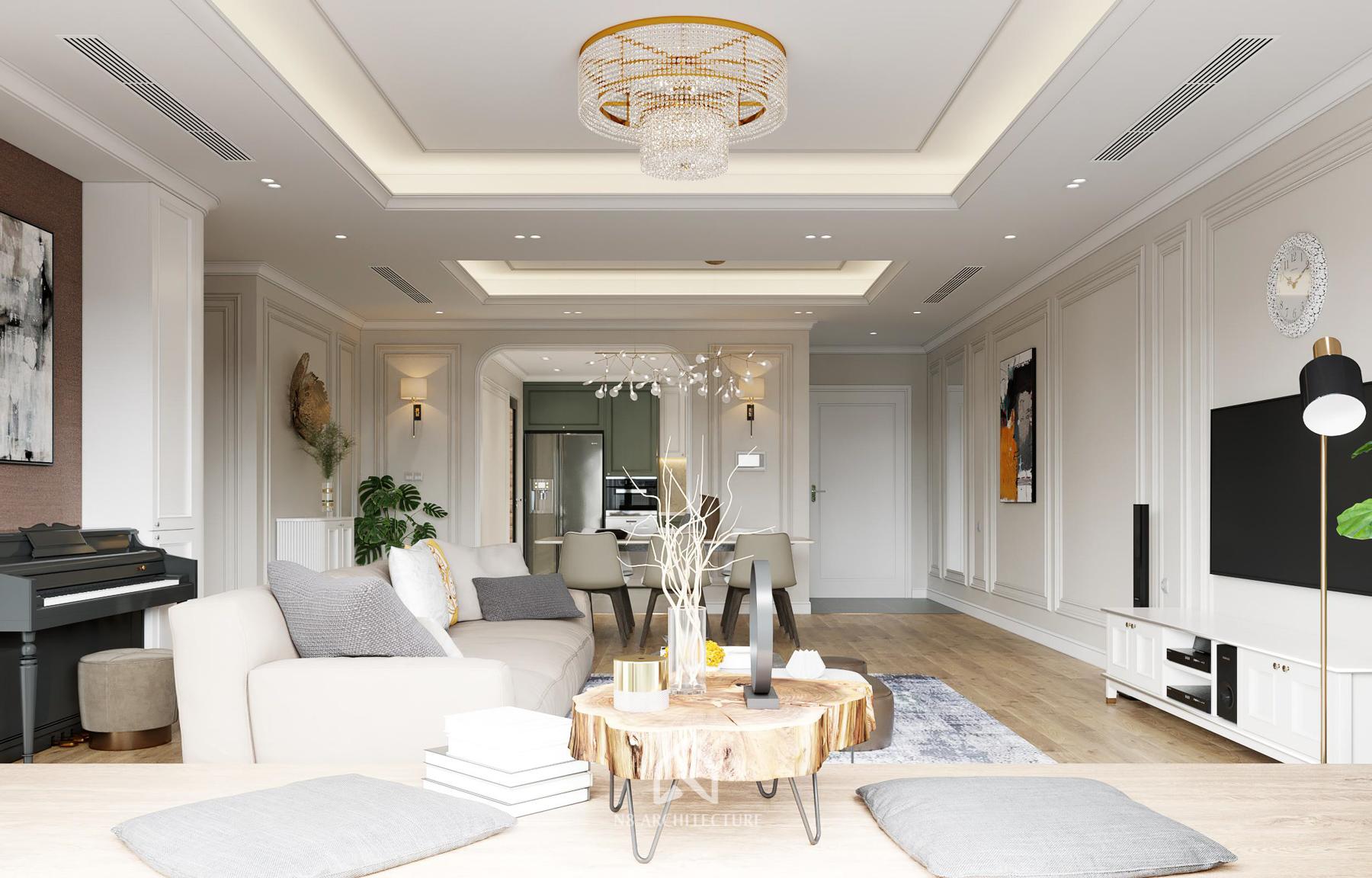 thiết kế nội thất chung cư paragon 5