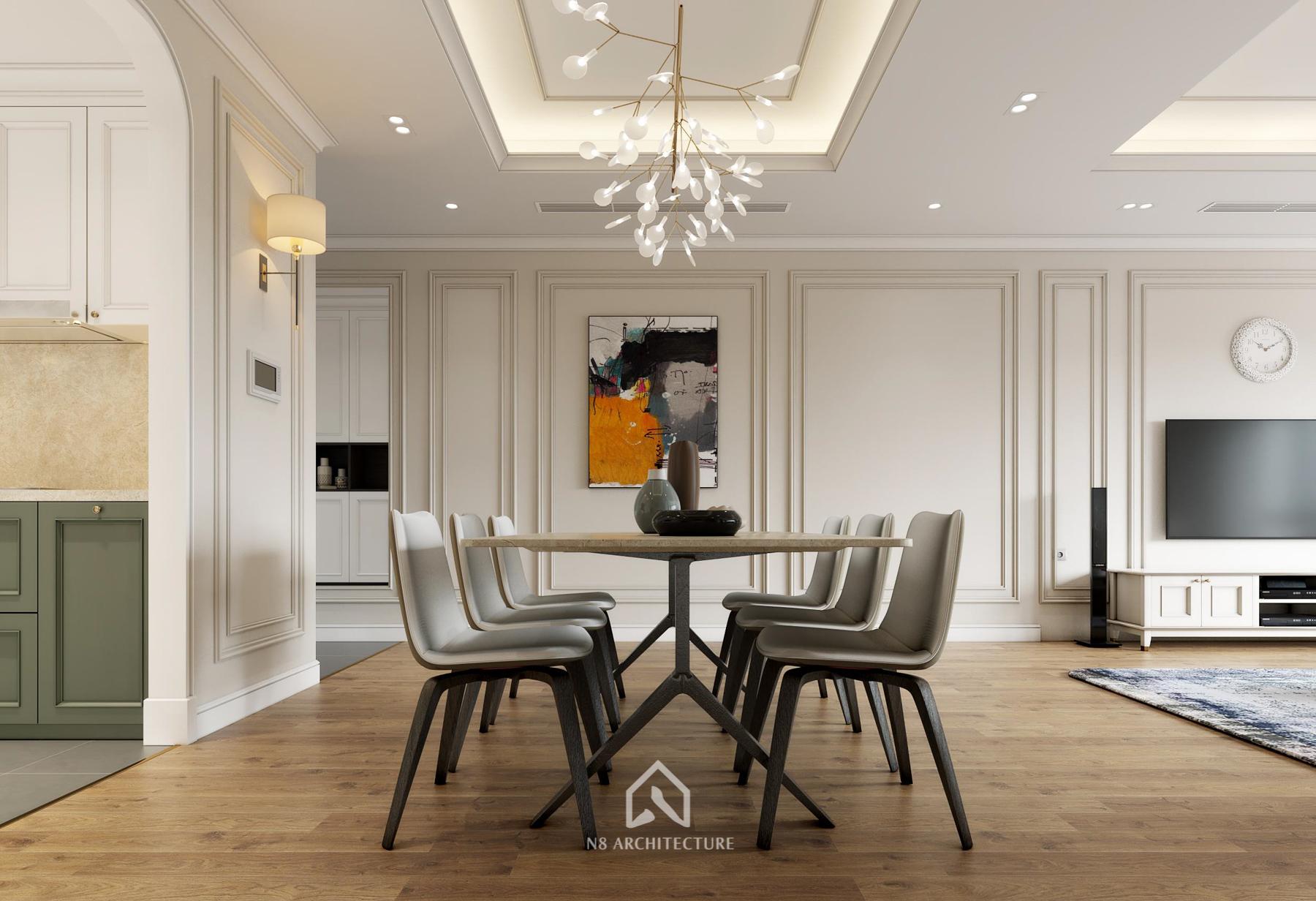 thiết kế nội thất chung cư paragon 8