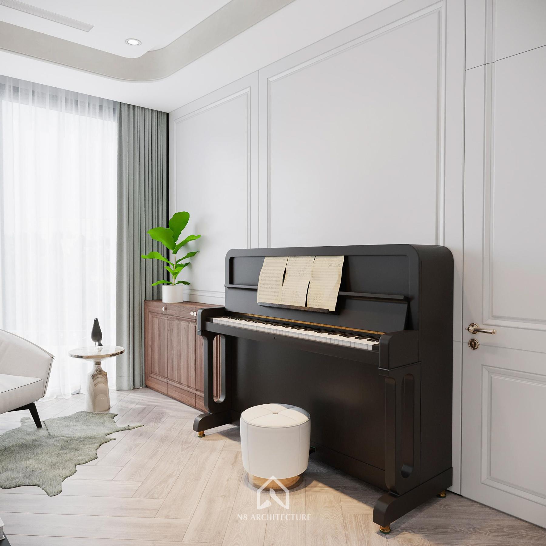 thiết kế nội thất chung cư vinhomes riverside 10