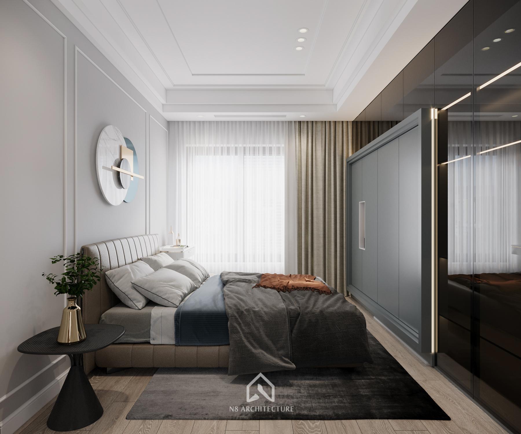 thiết kế nội thất chung cư vinhomes riverside 14