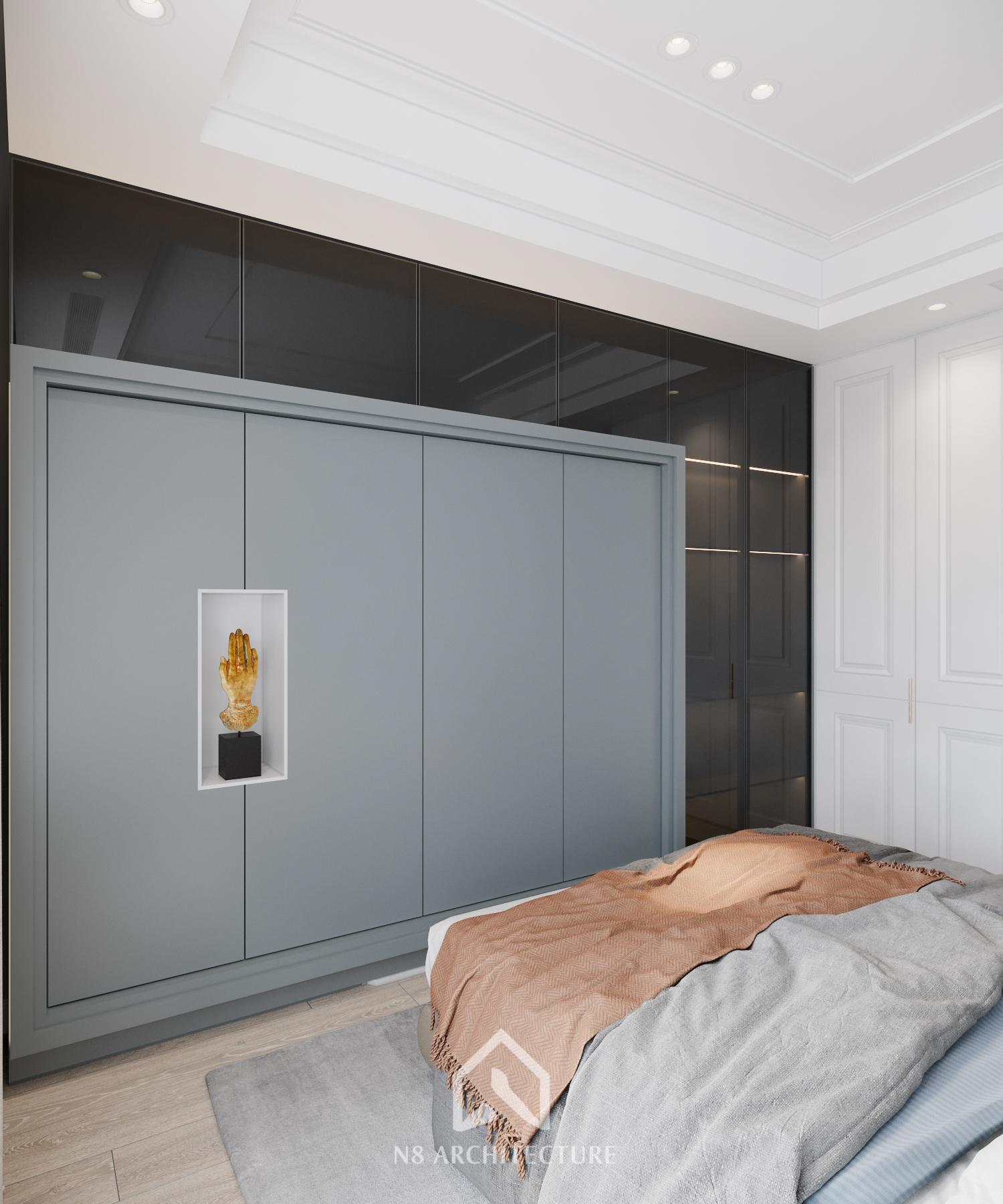 thiết kế nội thất chung cư vinhomes riverside 16