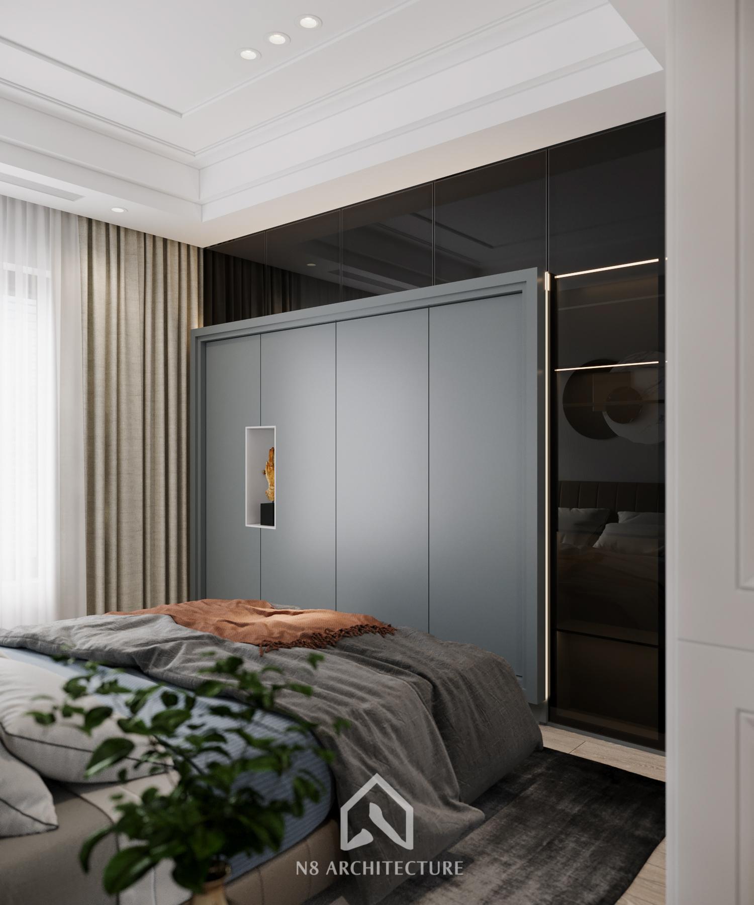 thiết kế nội thất chung cư vinhomes riverside 17