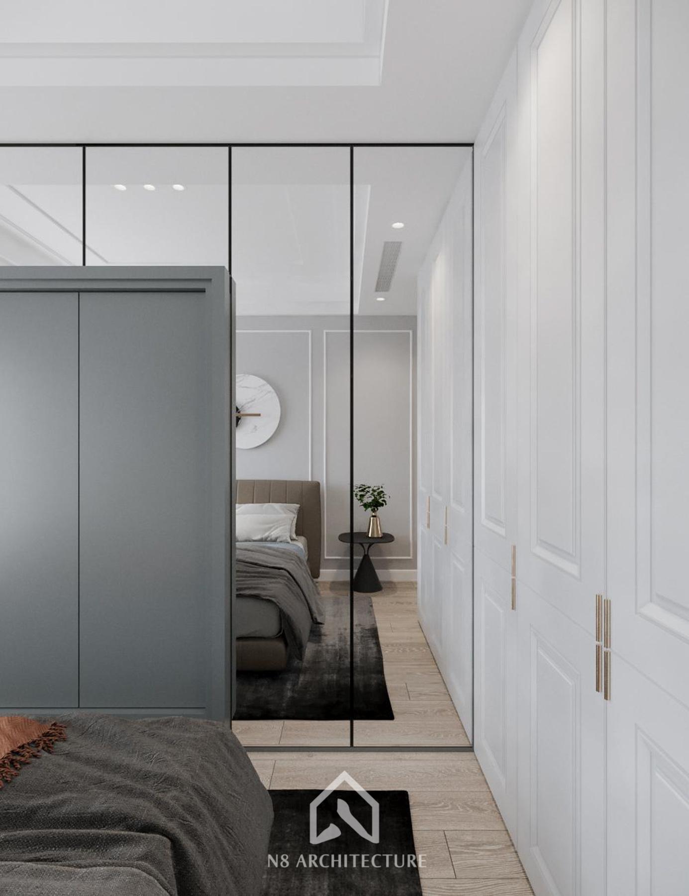 thiết kế nội thất chung cư vinhomes riverside 18