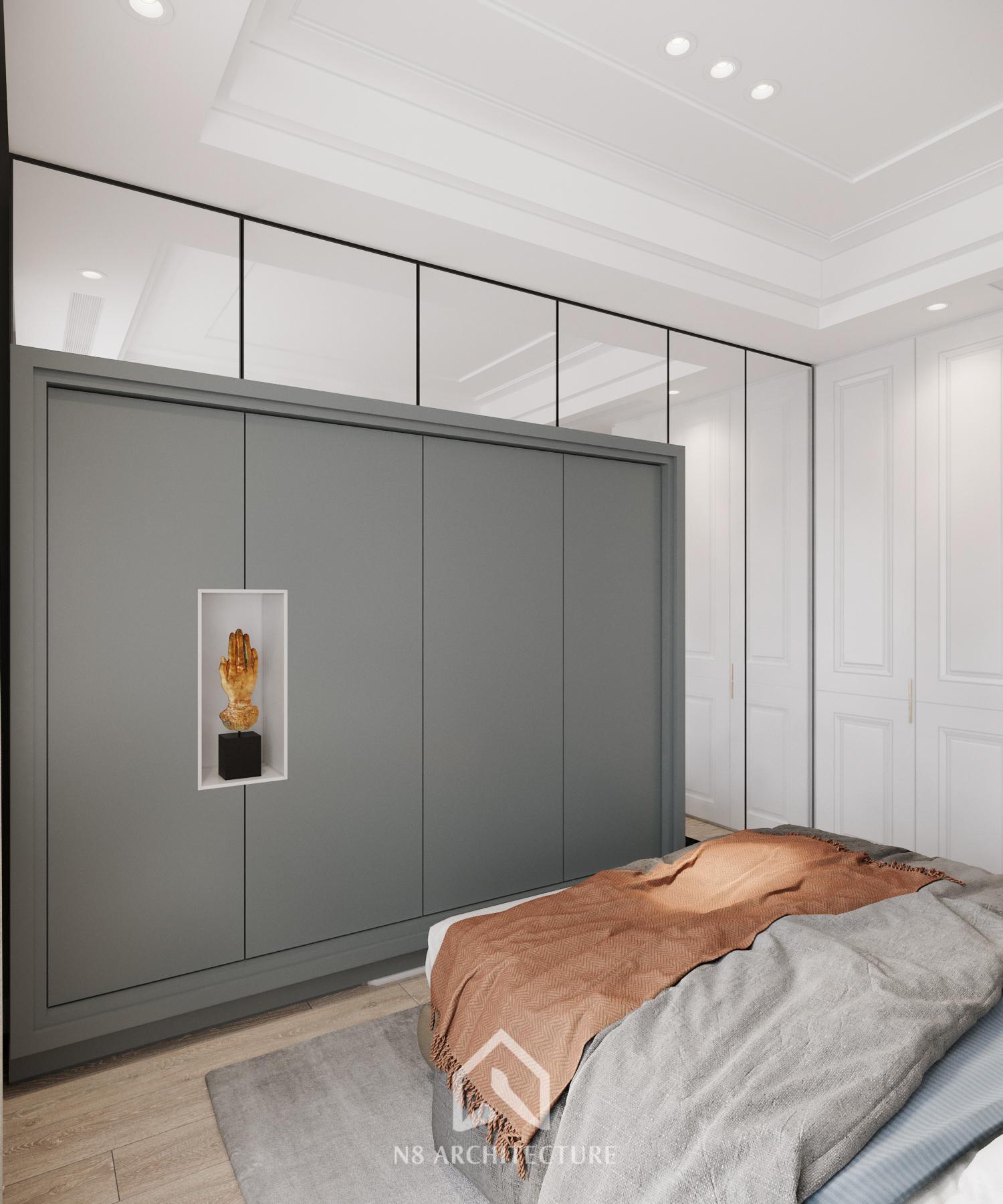 thiết kế nội thất chung cư vinhomes riverside 19