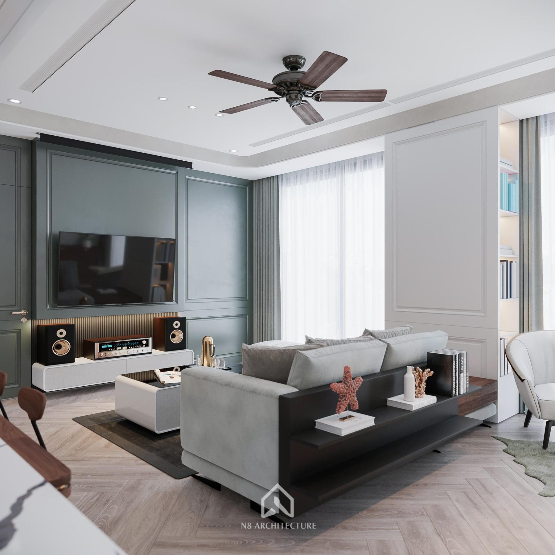 thiết kế nội thất chung cư vinhomes riverside 2