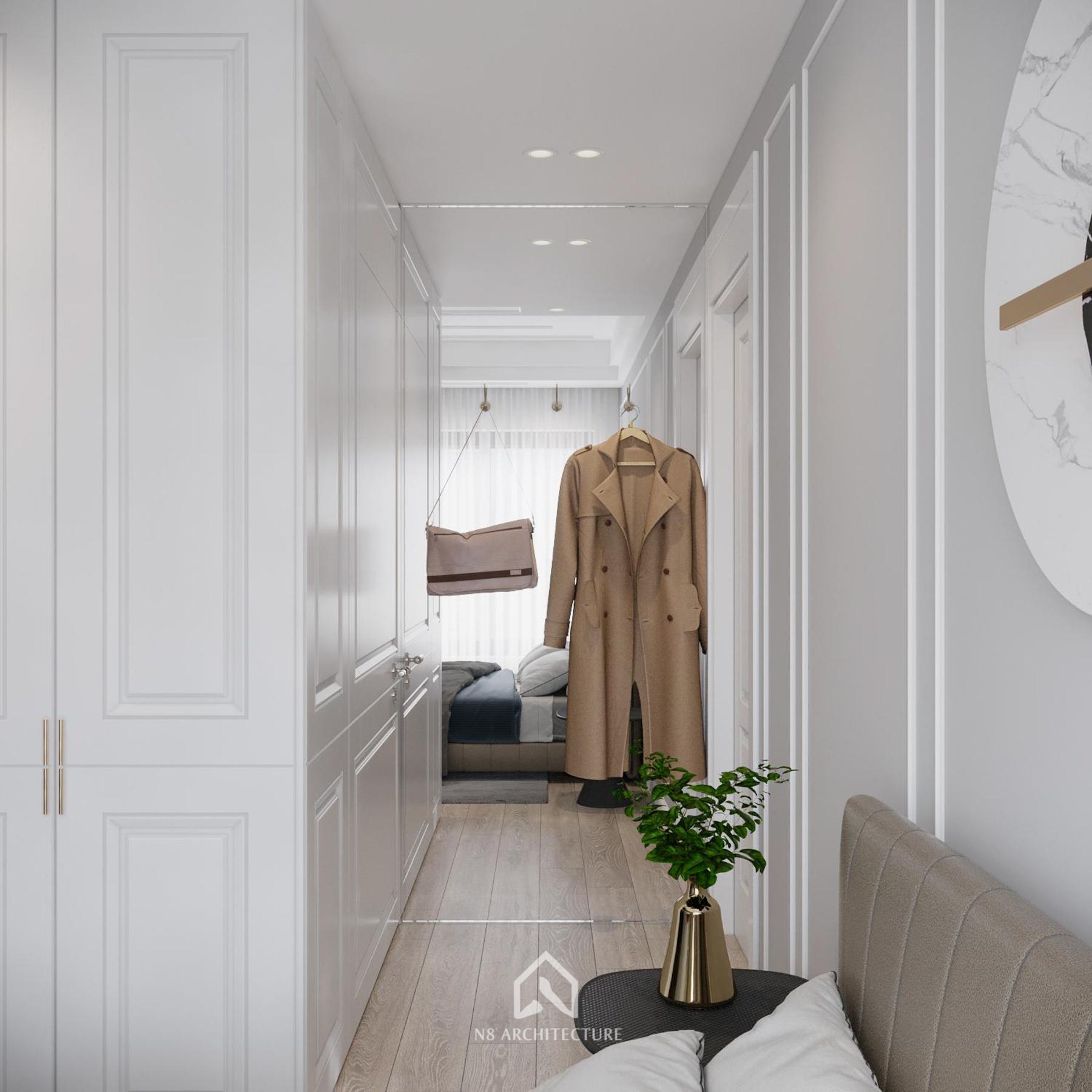 thiết kế nội thất chung cư vinhomes riverside 21