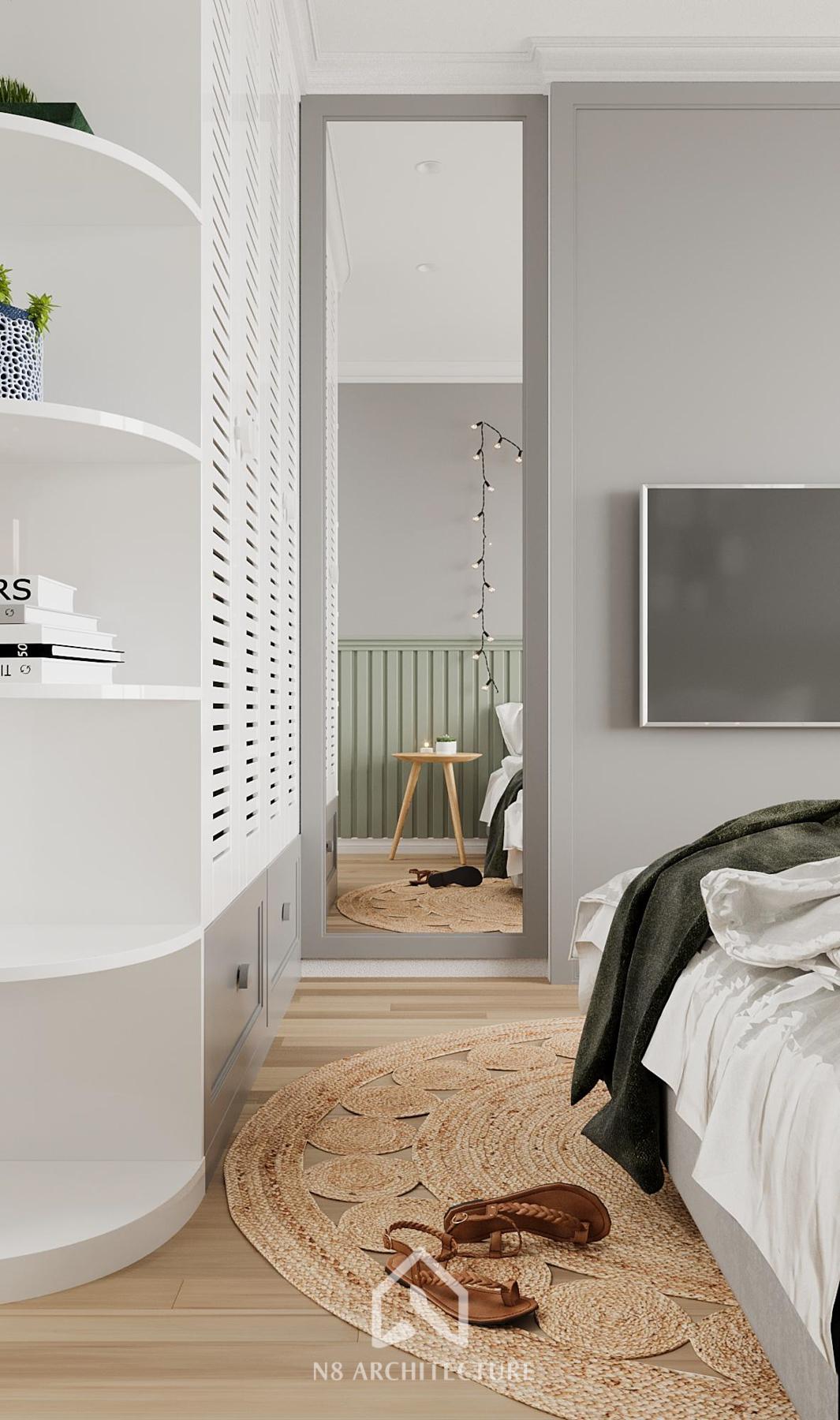 thiết kế nội thất chung cư vinhomes riverside 26