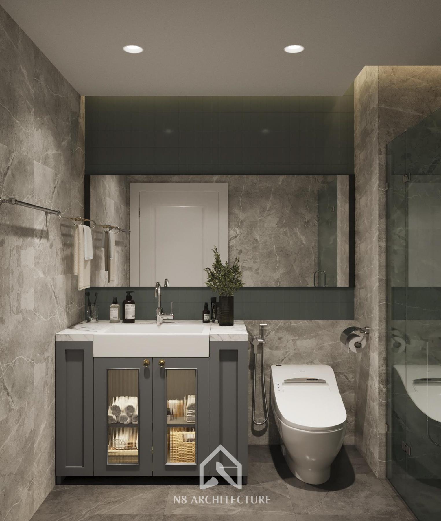 thiết kế nội thất chung cư vinhomes riverside 28