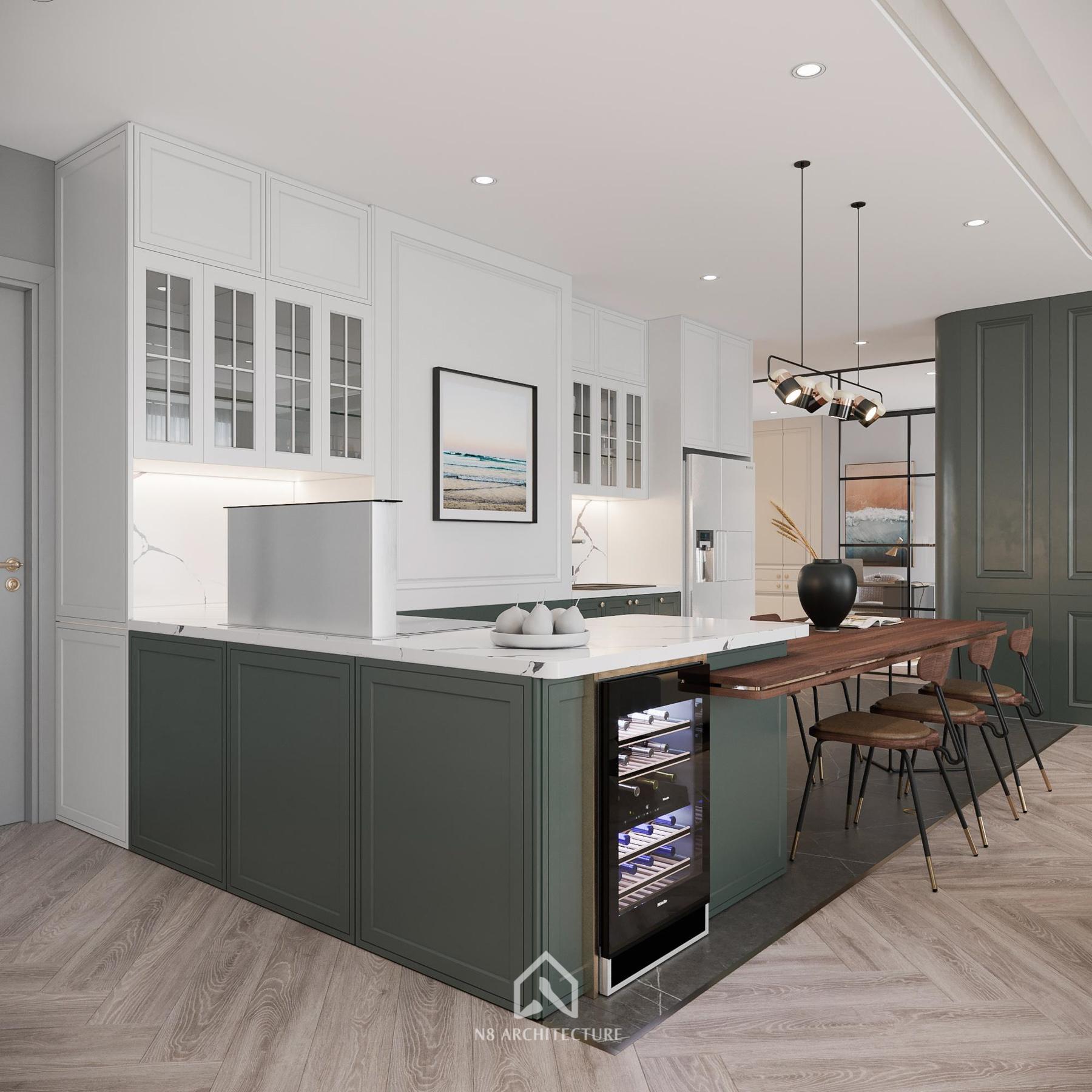 thiết kế nội thất chung cư vinhomes riverside 5