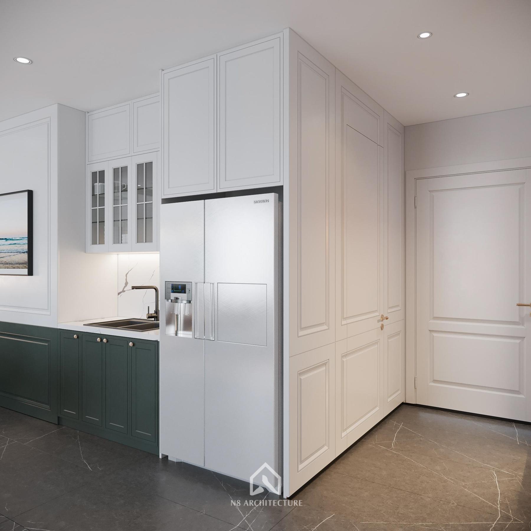 thiết kế nội thất chung cư vinhomes riverside 8