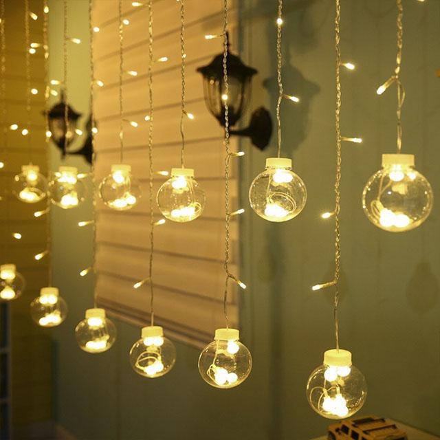 đèn ngủ treo thành tấm rèm