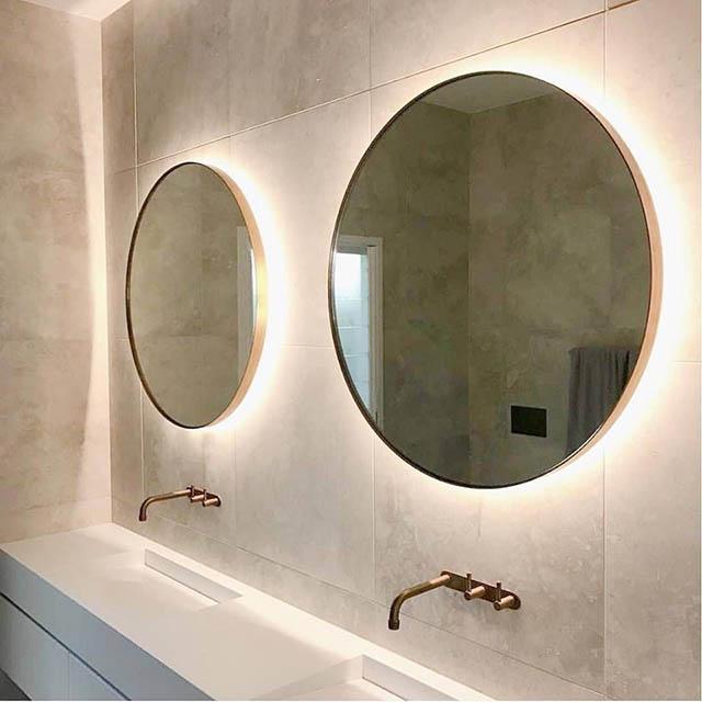 khung gương inox