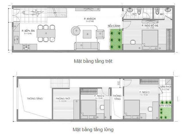 Đặc điểm của những nhà cấp 4 có gác lửng 3 phòng ngủ
