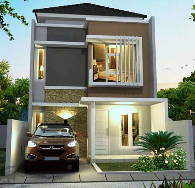 giải pháp về không gian thiết kế nhà phố 2 tầng