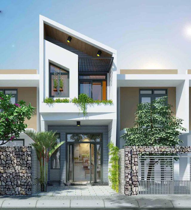 Nhà 2 tầng kiểu nhà hiện đại giá 500 triệu 2