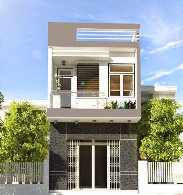 Nhà 2 tầng kiểu nhà hiện đại giá 500 triệu
