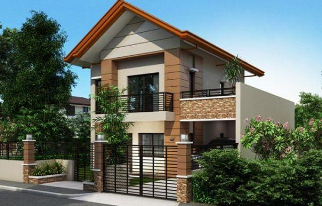 Nhà 2 tầng kiểu nhà vườn giá 500 triệu 2
