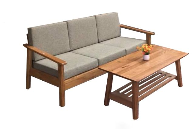 Ghế sofa gỗ sồi