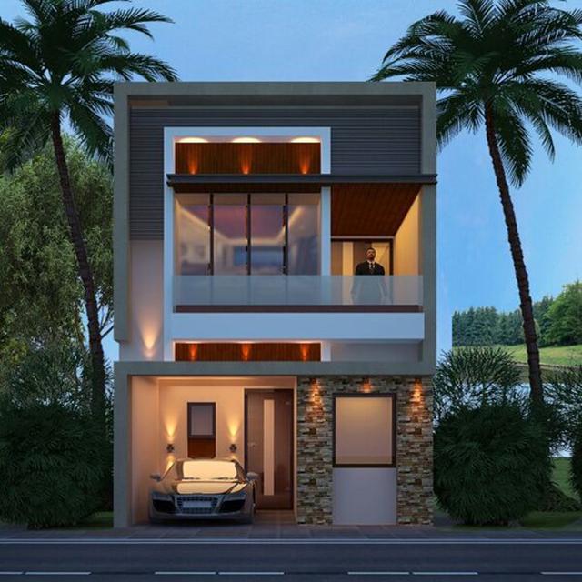 Thiết kế nhà phố 2 tầng có những ưu điểm nào