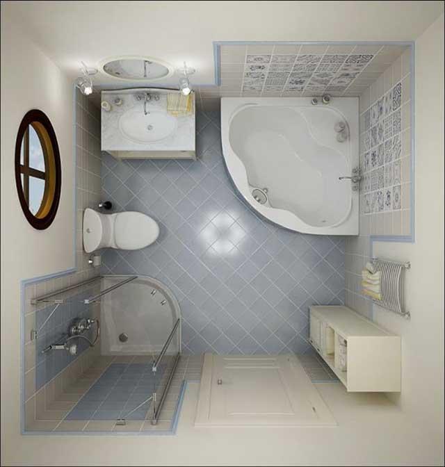 Nhà vệ sinh và bồn cầu không nên thiết kế cùng hướng