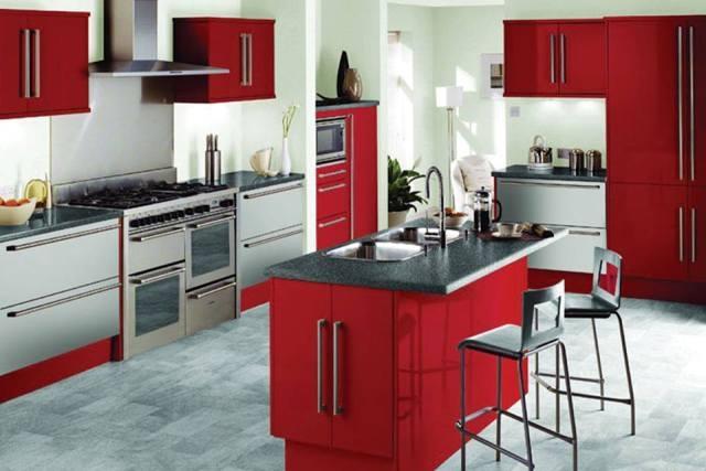 Lựa chọn màu sắc nội thất trong bếp