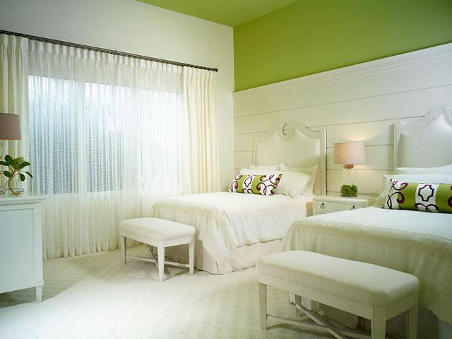 Màu sơn phòng ngủ phù hợp với từng lứa tuổi