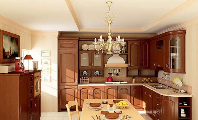 phòng bếp cổ điển 1