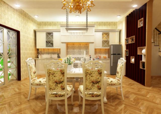 phòng bếp cổ điển 3