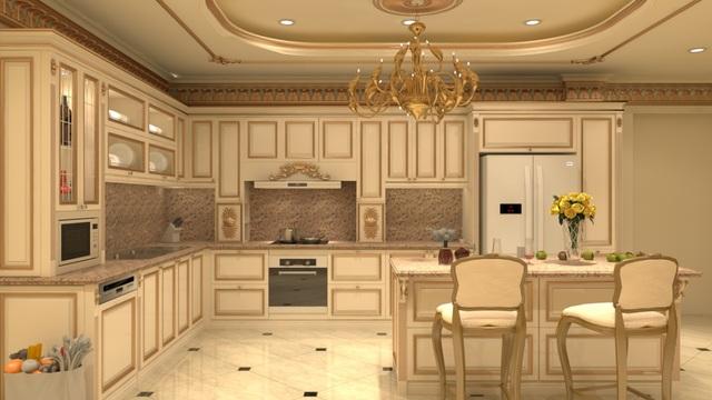 phòng bếp cổ điển 4