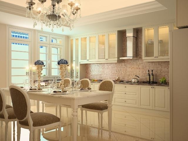phòng bếp cổ điển 5
