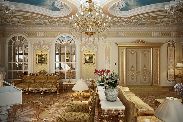 phòng khách cổ điển 2