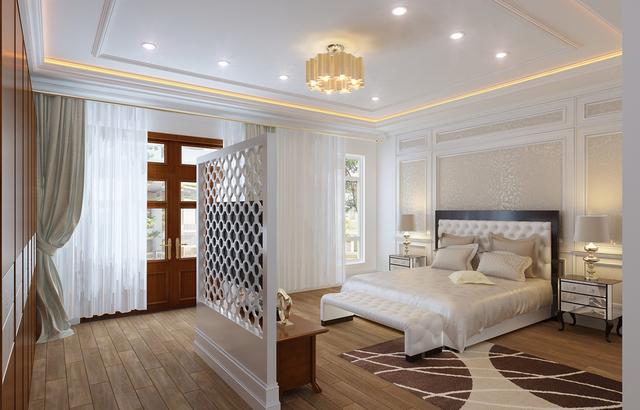 phòng ngủ cổ điển 1