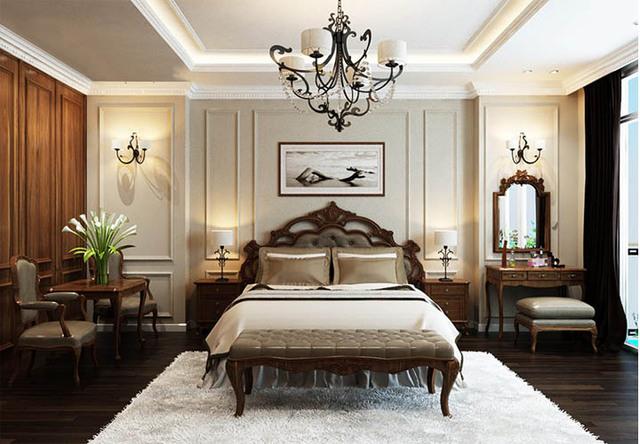 phòng ngủ cổ điển 2
