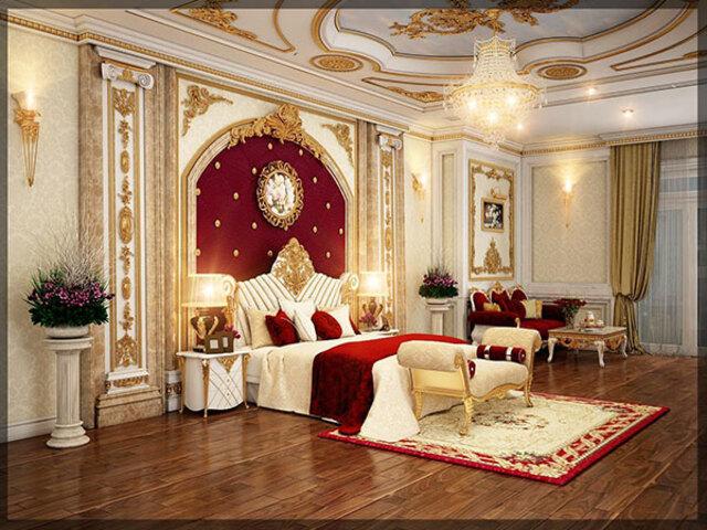 phòng ngủ cổ điển 3