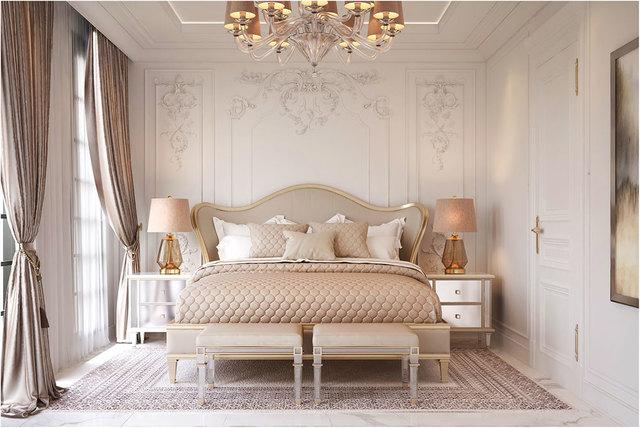 phòng ngủ cổ điển 5