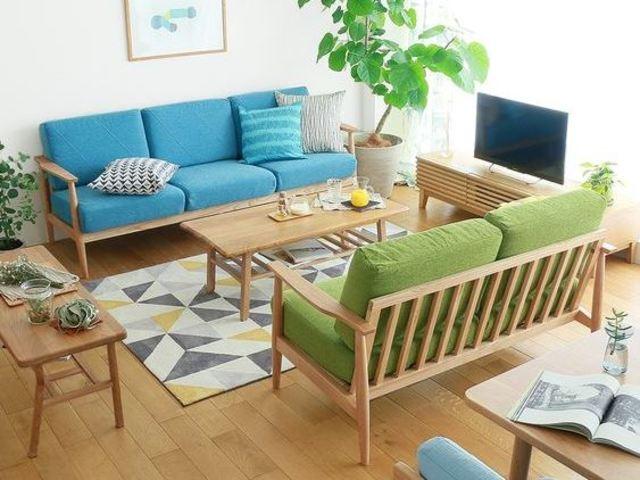 bàn ghế gỗ phòng khách 1
