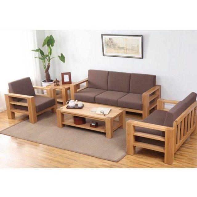 bàn ghế gỗ phòng khách 3