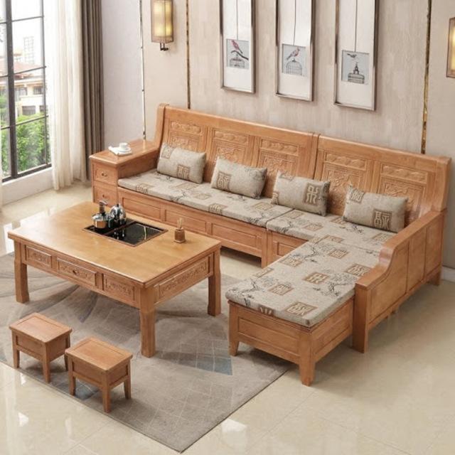 bàn ghế gỗ phòng khách 7