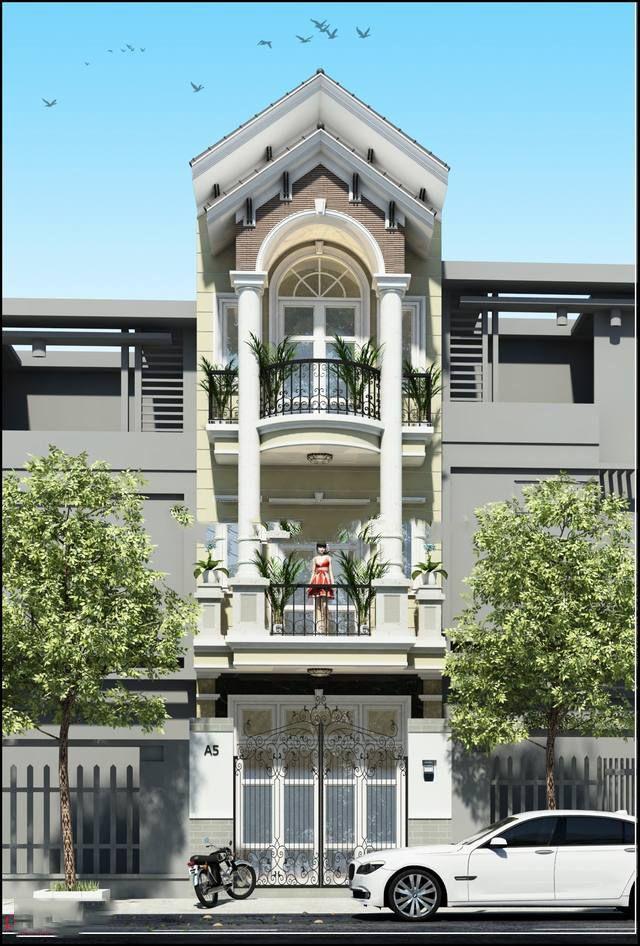 nhà phố bán cổ điển