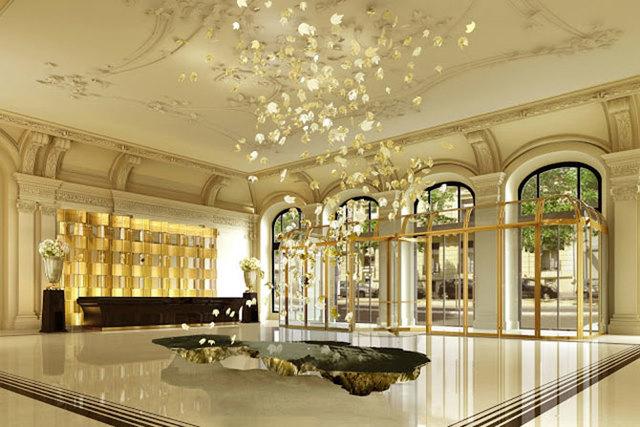 nội thất khách sạn tân cổ điển 2