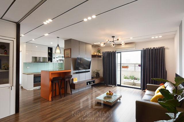 thiết kế nội thất kiến trúc N8 4