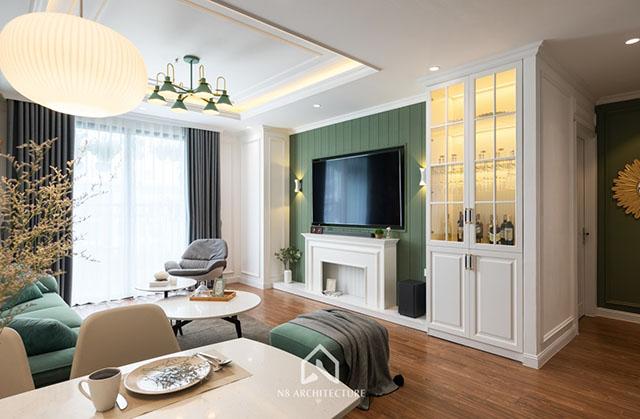 thiết kế nội thất kiến trúc N8 5