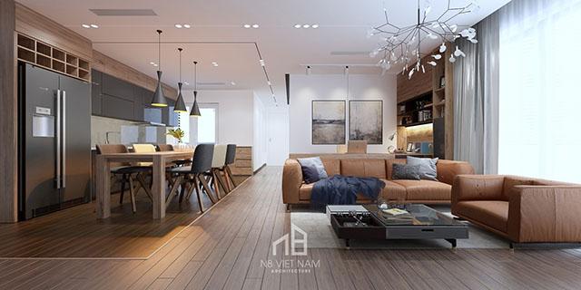 thiết kế nội thất kiến trúc N8 6