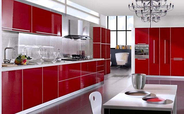 thiết kế phòng bếp tuổi kỷ mùi