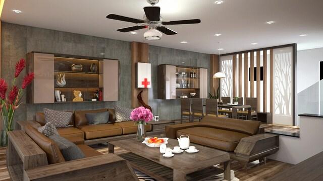 đồ gỗ nội thất phòng khách 5