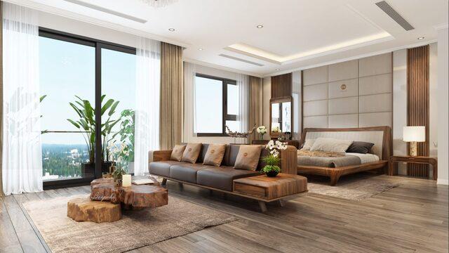 đồ gỗ nội thất phòng khách 6