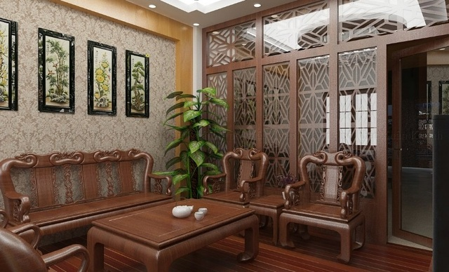 đồ gỗ nội thất phòng khách 8
