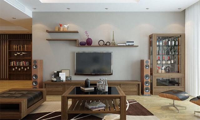 đồ gỗ nội thất phòng khách 9