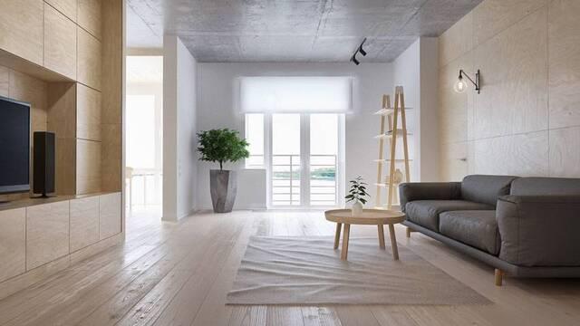Sử dụng nội thất tối giản